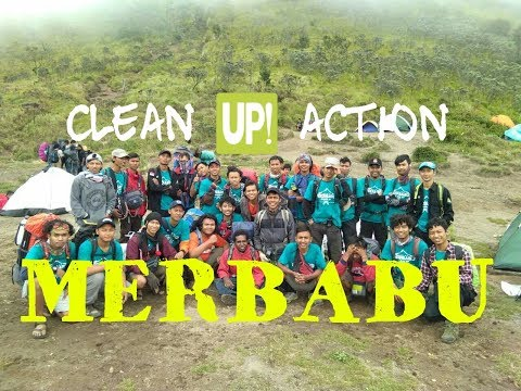 MERBABU CLEAN UP ACTION
