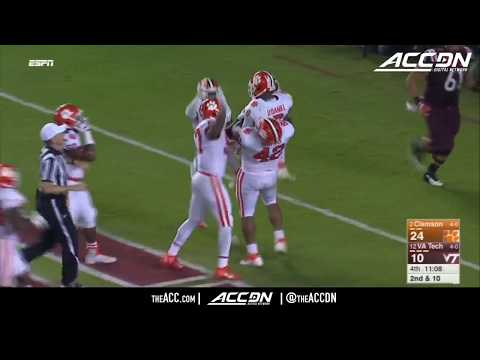 Clemson vs Virginia Tech College Football Condensed Game 2017 (видео)