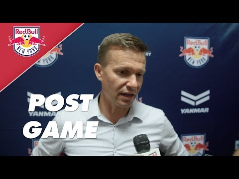New York Red Bulls | FCD Post Game Reaction: Jesse Marsch