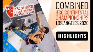 IFSC Pan-American Championships 2020 - Men Finals - Highlights by International Federation of Sport Climbing