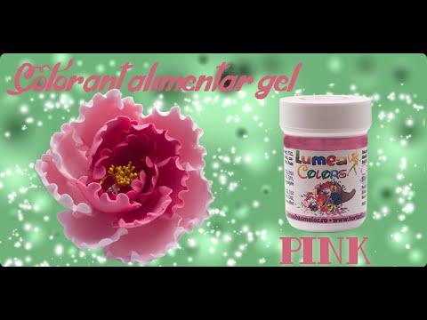 Colorant Alimentar gel Lumea Basmelor pink