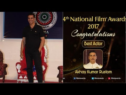 Akshay Kumar Reaction On Winning National Award Controversy