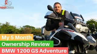 8. BMW 1200 GS Adventure 5 Month Owner Review