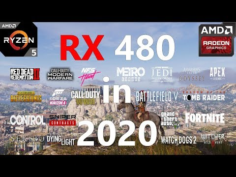 RX 480 Test in 30 Games in 2020