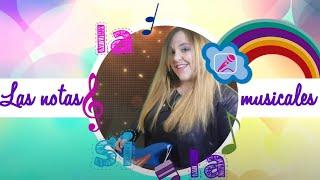 Las notas musicales, para aprender cantando y bailando con PELINA