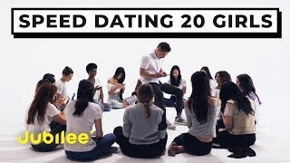 20 vs 1: Speed Dating 20 Girls | Jubilee x Solfa