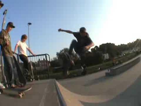 Jarvis Skateboarding @ Ipswich Park - quick edit
