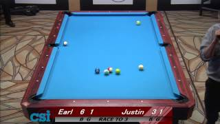 CSI 2013 US Open One Pocket Strickland Vs Hall