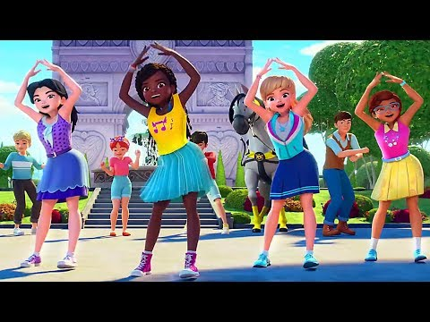 """LEGO FRIENDS """"We've Got Heart"""" Song (Dancing Video Clip, Animation)"""