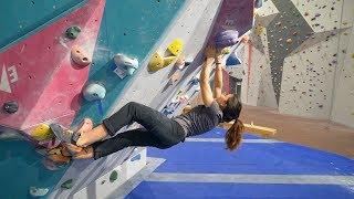 Climbing In The Legends Only Gym  - Sofya - Hannes - Emil - Oskar by Eric Karlsson Bouldering