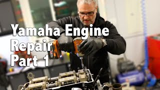 7. 2015 Yamaha FX Cruiser SVHO Engine Repair Part 1
