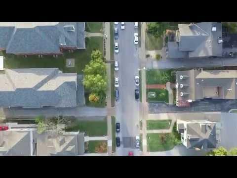 Walnut Street Springfield Missouri Aerial View
