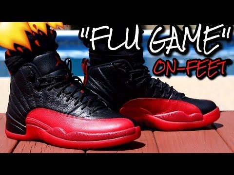 """Flu Game"" Air Jordan 12 W/ On-Feet Review"