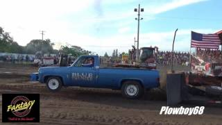 Manchester (IA) United States  city pictures gallery : Fantasy Super Stock 2wd 1st hook in Manchester, IA 7-16-2016