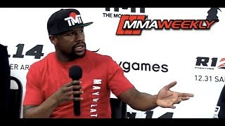 Video Irritated Floyd Mayweather Confronted by Reporter on Why He Doesn't Fight MMA MP3, 3GP, MP4, WEBM, AVI, FLV Desember 2018