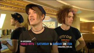 Video Hits Interview The Dandy Warhols - Part 1