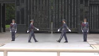 【東京】皇居警察の交代式!!?