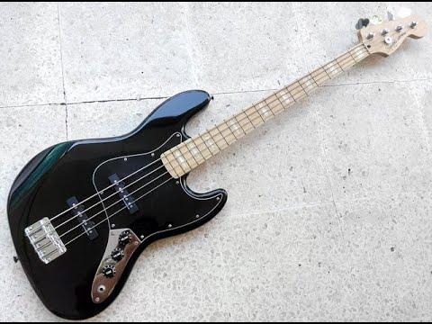 Fender Squier Vintage Modified Jazz Bass '77 Black