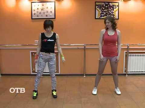 Booty dance: американский вариант. Обучающее видео.