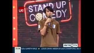 Sandy Febryan @ Stand Up Comedy Show MetroTV 17 April 2014