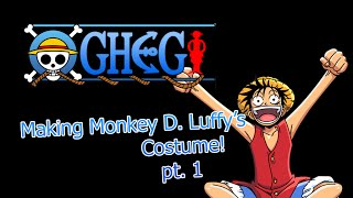 How To Make Monkey D. Luffy's Costume Part 1 | AoTTG RC Mod | Adobe Illustrator CS6
