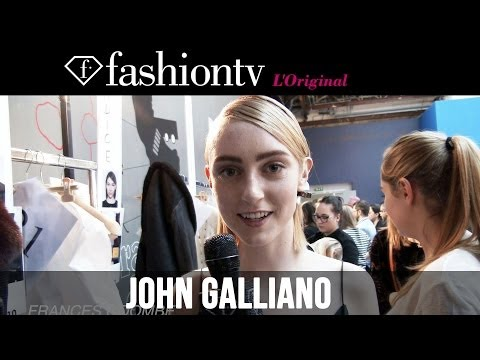 fashiontv - http://www.FashionTV.com/videos PARIS - FashionTV goes backstage before the John Galliano Fall/Winter 2014-15 show during Paris Fashion Week. Creative direct...