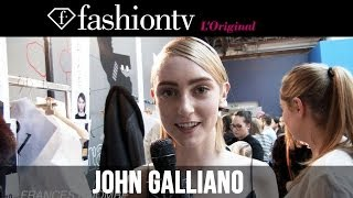 John Galliano Fall/Winter 2014-15 Backstage | Paris Fashion Week PFW | FashionTV