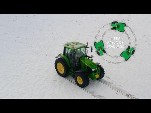 Présentation gamme de tracteurs John Deere Série 6M