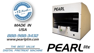 The Best Value in DTG Pre-Treatment Pretreat Machine - Pearl LITE