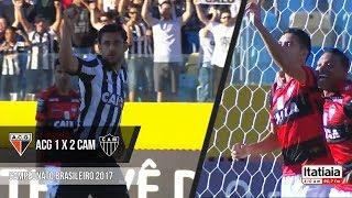 Veja os gols da vitória de virada do Galo sobre o Atlético-GO.