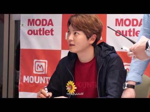 2017-04-29 - Joo Won Mountia Fan Sign Event at Suncheon (видео)