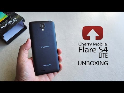 Cherry Mobile Flare S4 Lite Unboxing