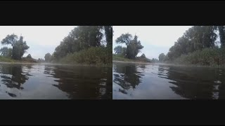 Download Lagu River,Fog,Rain ... Relaxation and Meditation .3d vr video ( Google Cardboard ) Mp3