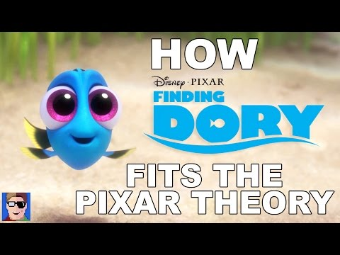 How Finding Dory Fits Into The Pixar Theory