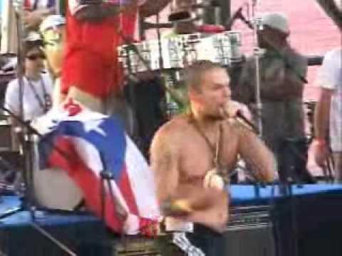Calle 13 Tomo a la Habana: Ahi se gozo mi hermano.