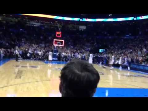View from the crowd: Kevin Durant's game-winner against Dallas