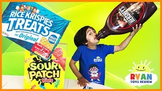 GIANT CANDY CHALLENGE! World