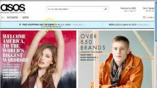 Learn how to get an discount on your purchase from ASOS by using coupons through CheapSally.com.