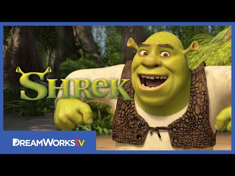 NEW - The most lovable grump in the kingdom of Far Far Away, Shrek shares his opinions and gripes and all things ogre. → Credits ← DreamworksTV Executive Producer -- Birkner Rawlings Shrek...