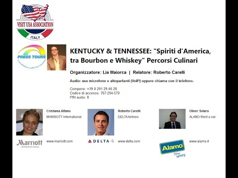 Video KENTUCKY & TENNESSEE Spiriti d America, tra Bourbon e Whiskey Percorsi Culinari (25-5-2017)