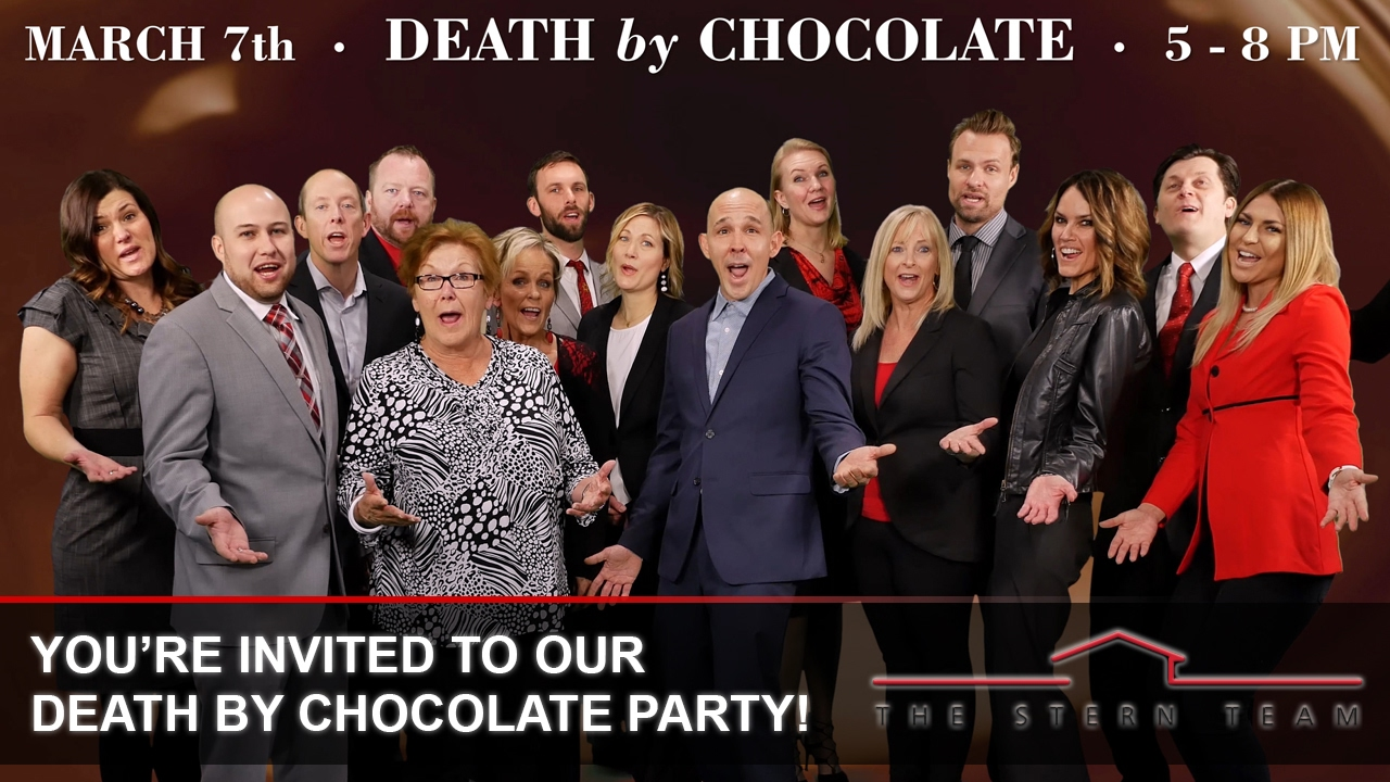 You're Invited to Our Death By Chocolate Party!