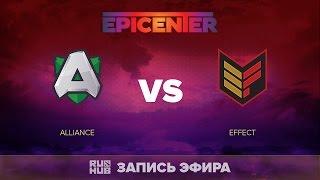 Alliance vs Effect, EPICENTER EU Quals, game 1 [V1lat, GodHunt]