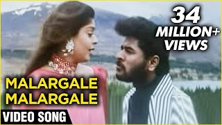Video Malargale Malargale  Video Song | Love Birds |  Prabhu Deva, Nagma | A. R. Rahman | Romantic Hits MP3, 3GP, MP4, WEBM, AVI, FLV Agustus 2019