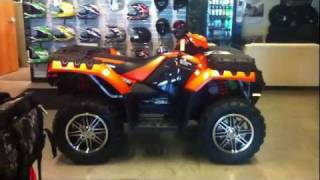 3. 2012 Polaris Sportsman 550 EPS Orange Madness LE