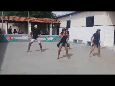 Queda de um raio no Colégio Valdir De Araújo Castro em Sao Felix do Coribe Bahia