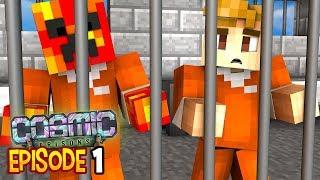 PRESTONPLAYZ Locked Me In PRISON!   (Cosmic Prisons Ep.1)