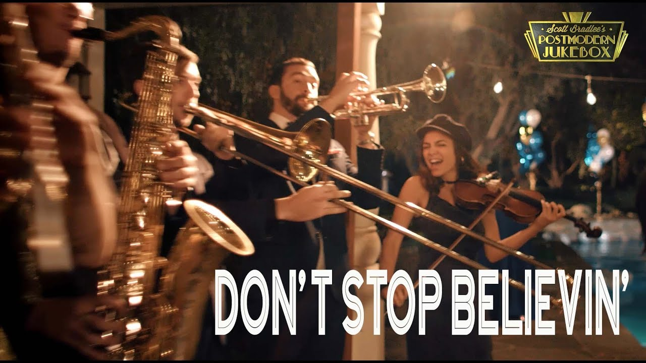 Don't Stop Believin' – Journey (ONE TAKE Vintage Postmodern Jukebox Cover)