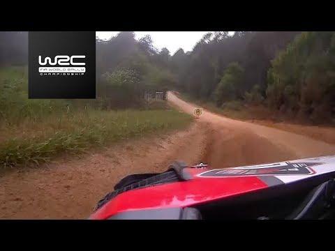WRC - Kennards Hire Rally Australia 2017: Shakedown ONBOARD Lefebvre