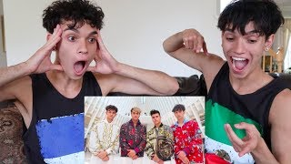 REACTING TO OUR NEW SONG!