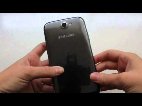 Samsung Galaxy Note II, desempaquetado